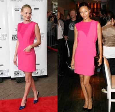 Vestido de Preen: ¿Thandie o Kate?