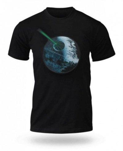 Camiseta dinámica de la Estrella de la Muerte