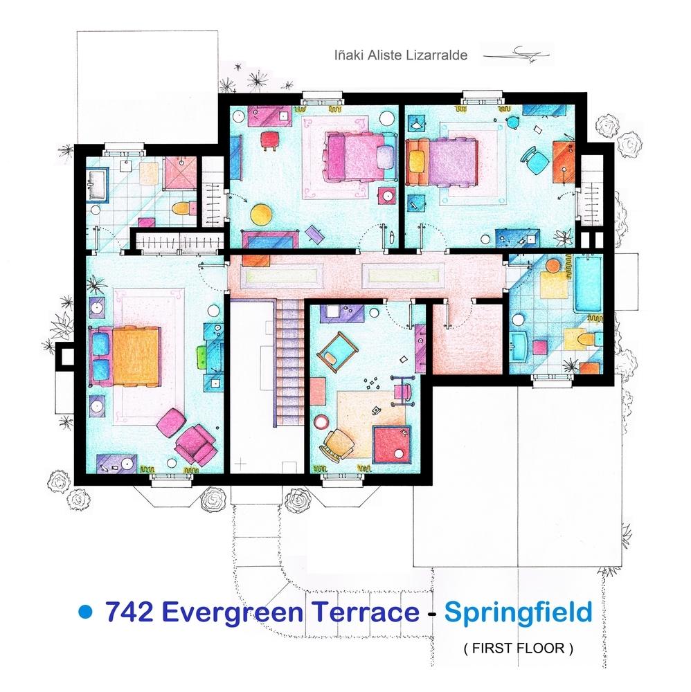 Foto de Planos de apartamentos de series de TV (12/17)
