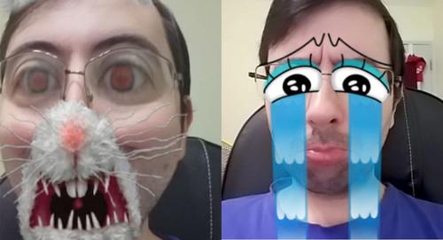 Siete aplicaciones para añadir efectos sobre tu cara en tiempo real