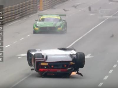 Video: De esas veces, cuando ganas una carrera con el auto volcado