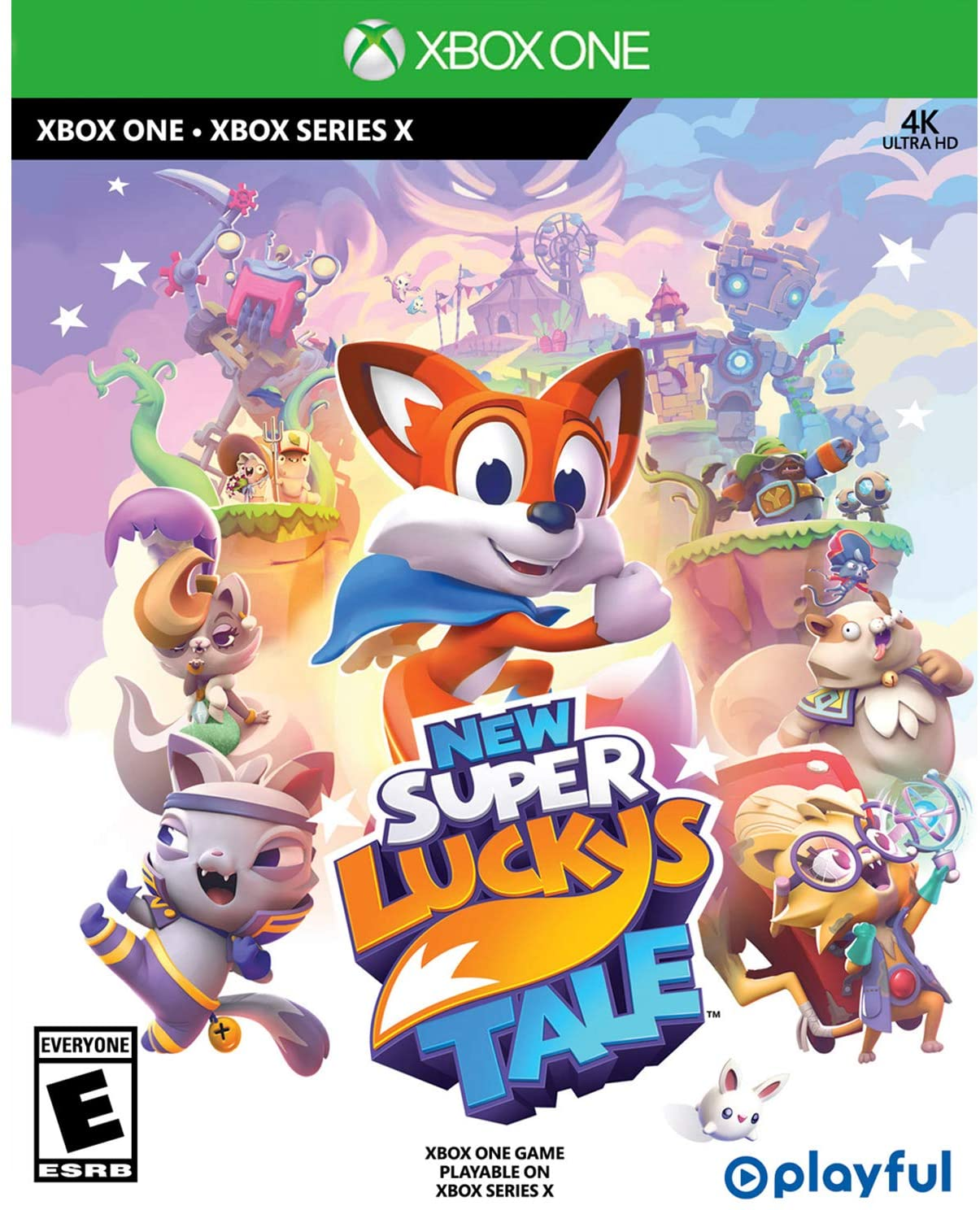 New Super Luckys Tale para Xbox One
