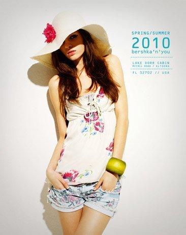 Bershka viste a la mujer joven este verano 2010: lookbook completo con todos los estilos IV