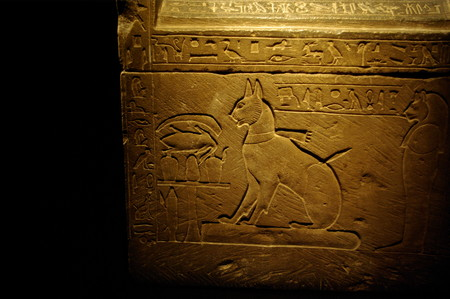 Sarcophagus Of Prince Thutmose S Cat By Madam Rafaele