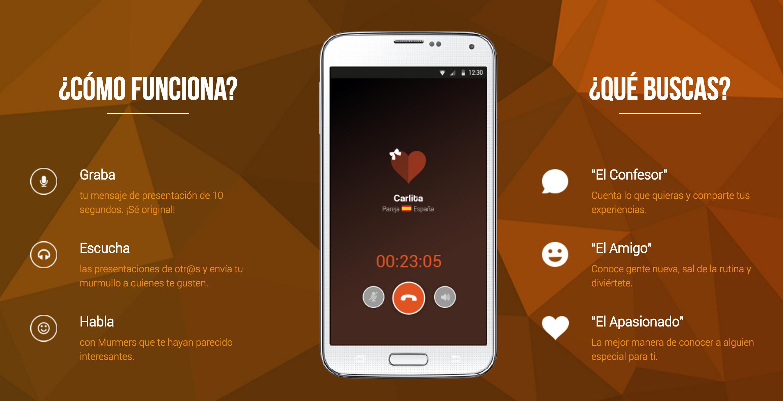 Murme, la app para hacer amistades desde el anonimato, sólo con la voz
