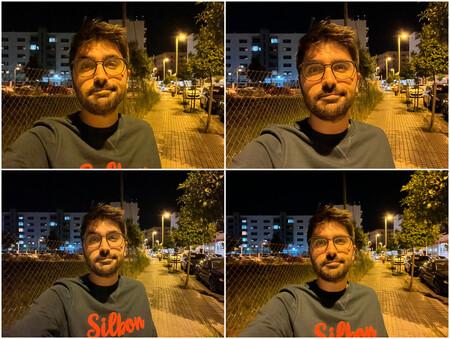 Modo Noche Selfie