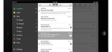 Mailbox lanza su aplicación oficial para iPad