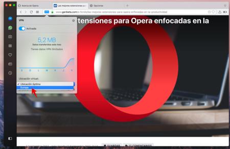 Vpn En Opera