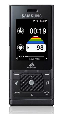 Samsung miCoach, móvil deportivo junto con Adidas