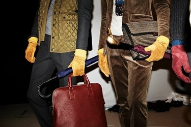 Burberry también lo clavó con su colección de complementos Otoño-Invierno 2012/2013