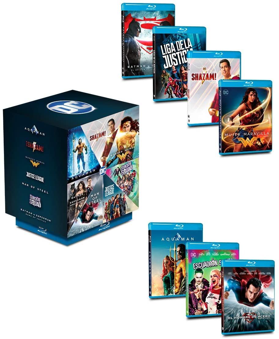 Paquete DC Heroes (portada puede variar) - Blu-ray