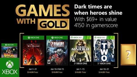Juegos Gratis Para Xbox One Y 360 En Enero De 2018 Con Gold
