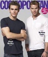 Kellan Lutz  y Paul Wesley hombres del Año para Cosmopolitan