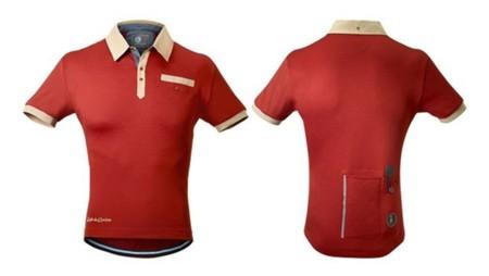 Polo y maillot para cicliclistas estilosos