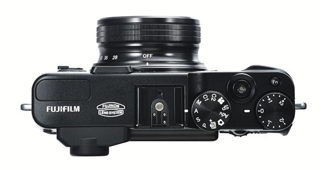 Fujifilm X20 vista superior