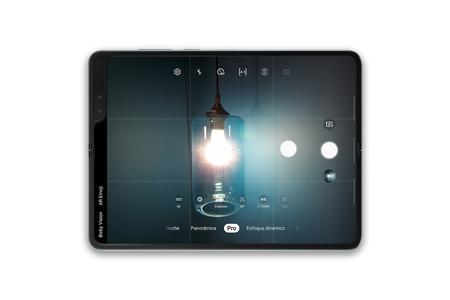 Samsung Galaxy Fold App Camara Horizontal