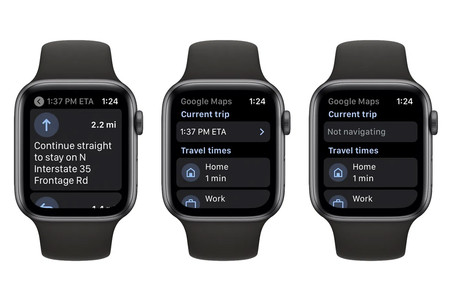 Google Maps ya se puede consultar desde un Apple Watch
