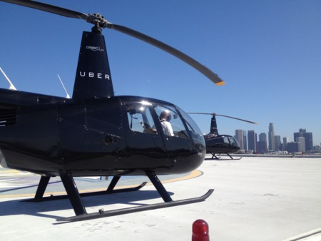 Uber se asoció con Airbus para ofrecer un servicio de helicópteros