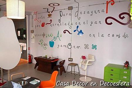 Casa Decor Madrid 2009.  La habitación infantil del País de Nunca Jamás