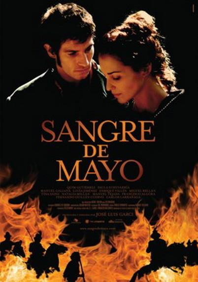 'Sangre de Mayo' de José Luis Garci, póster