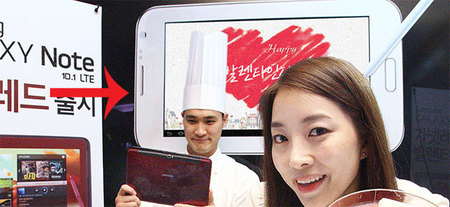 Accidentalmente Samsung revela su Galaxy Note 8.0