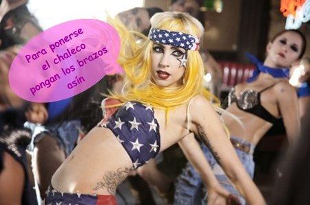 Lady Gaga y las normas de seguridad aéreas