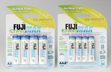 Fuji EnviroMax, pilas más ecológicas