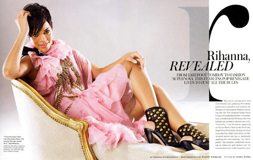 Foto de Rihanna en la portada de Style, todas las fotos (1/6)