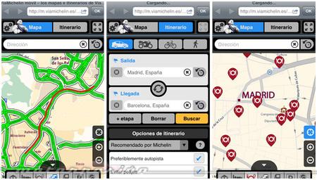 Michelin lanza el mapa de carreteras interactivo España Tráfico en Tiempo Real