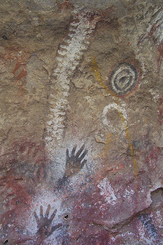 Pinturas rupestres en la Patagonia. Tus fotos de viaje