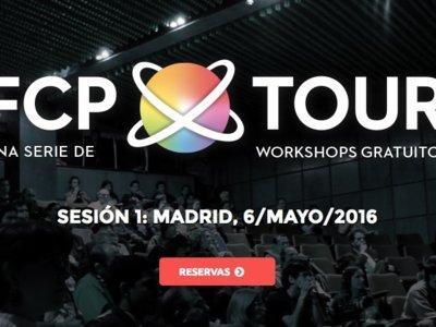 FCPTour, Madrid alojará talleres gratuitos de Final Cut Pro X desde mañana