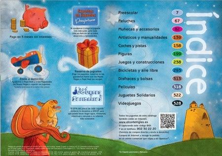 El catálogo de juguetes de El Corte Inglés para la Navidad 2012 para realizar los sueños de los peques