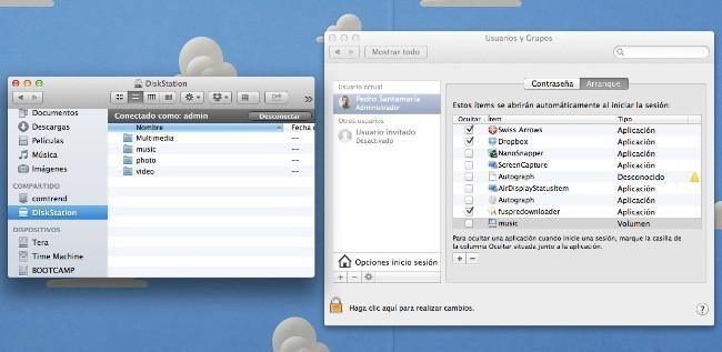 Unidad red iTunes