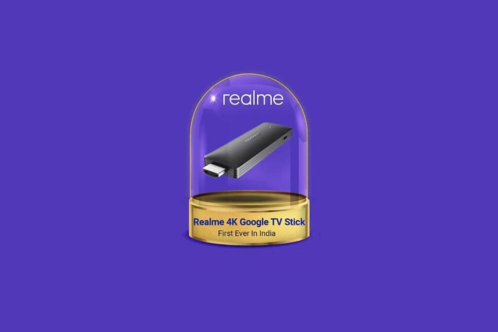 Realme quiere competir con el Fire TV de Amazon y tiene listo el Realme 4K Stick: un dongle conectado por HDMI y con Google TV