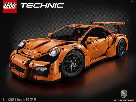 Porsche 911 Rs Gt3 Lego Technic 1