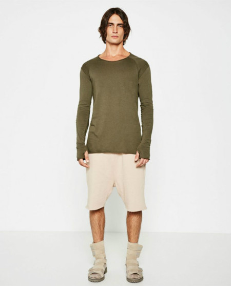 Zara Man Streetwise Collection Light Sweatshirt 800x991