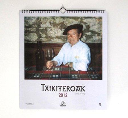 Calendario Txikiteroak 2012 con fotos de Yosigo