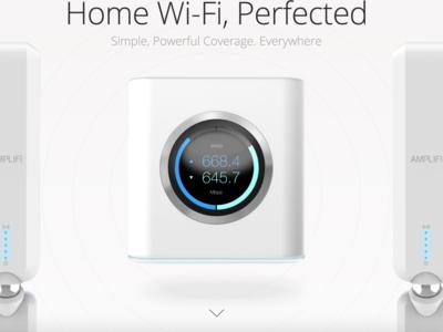 Amplifi es un router Wi-Fi que combina facilidad de uso y un diseño sobresaliente