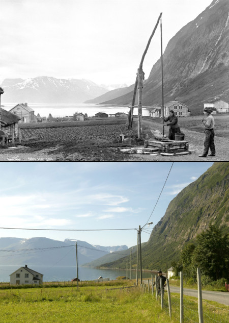 1885 2004 Pollfjell Lyngen Kommune Troms Fylke
