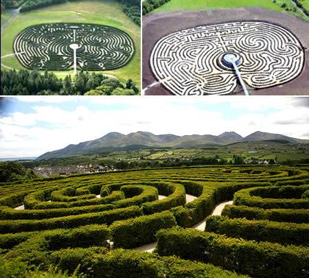 Peace Maze, el laberinto por la paz de Irlanda