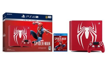 El PlayStation 4 Pro edición limitada de Spider-Man llegará en septiembre a México