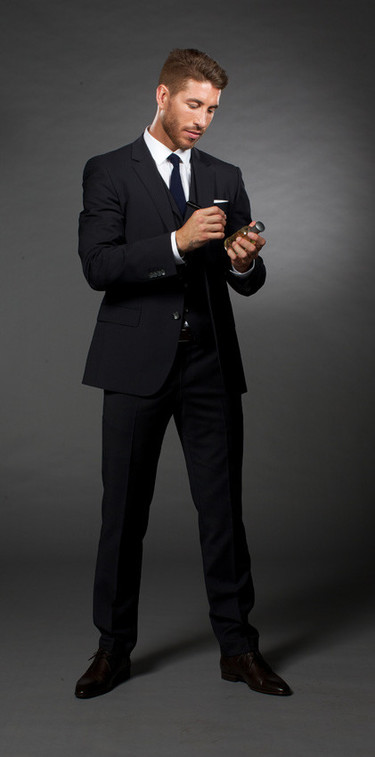 Sergio Ramos, imagen de Boss Bottled para la campaña 'Éxito Más Allá Del Juego'