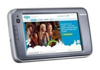 Nokia N810, con teclado físico y GPS