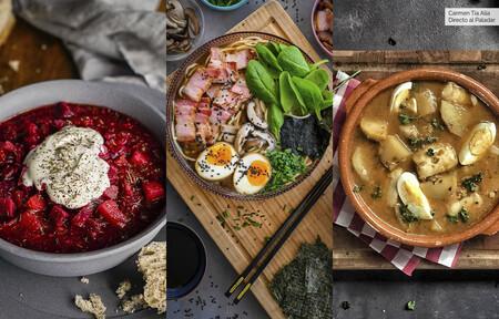 Tres vídeo recetas de platos de cuchara originales y deliciosos para combatir el frío polar