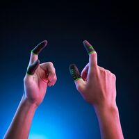 """Lo último de Razer son """"dedales"""" gamers: prometen mejor sensibilidad y mantener los dedos frescos al jugar en pantallas táctiles"""