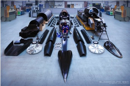 Bloodhound Ssc Despiece