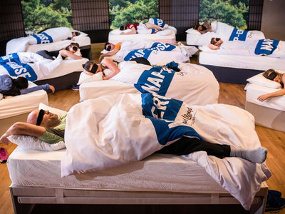 """Un gimnasio ofrece el sueño de los padres cansados (nunca mejor dicho): """"clases"""" de 45 minutos de siesta"""