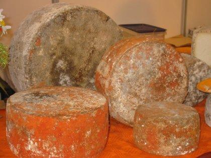 El queso de Gamonedo o Gamunéu