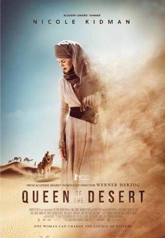 'Queen of the Desert', cartel y tráiler de lo nuevo de Werner Herzog