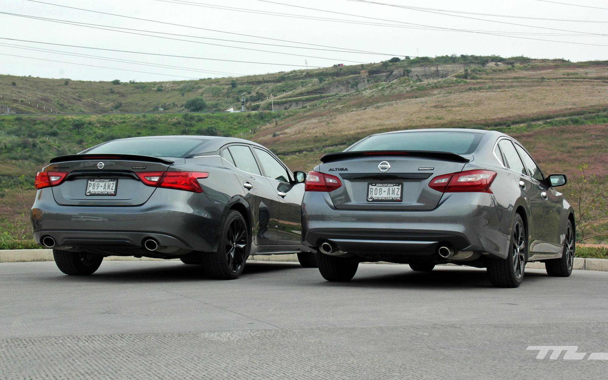 Nissan Altima y Máxima Midnight Edition